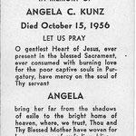 Kunz, Angela (Jacobs ) - 1956