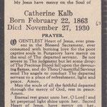 Kalb, Catherine - 1930
