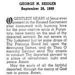 Seidler, George N. - 1969