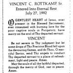 Rottkamp, Vincent C. Sr. - 1992