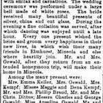 Newtown Registry - Hymenal - Dec. 5, 1907