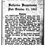Kappelmaier, Katherine - 1941