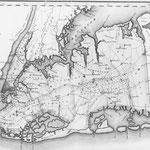 1829 David H. Burr Map Hand Drawn - Jamaica, Hempstead, Fosters Meadow, Queens
