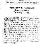 Hoeffner, Anthony P. - 1967