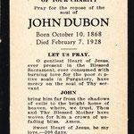 Dubon, John - 1928