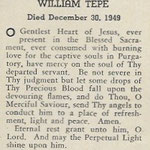 Tepe, Wlliam - 1949