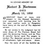 Hartmann, Herbert J. - 1950