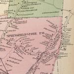 1873 Beers Map - Springfield, Queens
