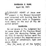 Ruhl, Barbara E. - 1971