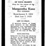 Kunz, Margaretha - 1925
