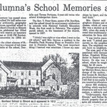 Newsday - An Alumna's School Memories at 102 - 1982