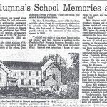 Newsday - An Alumna's School Memories at 102 - 1982