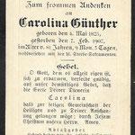 Gunther, Carolina - 1907