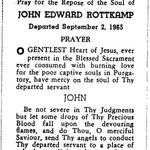 Rottkamp, John Edward - 1965
