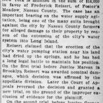 Brooklyn Eagle - Given $14,000 Verdict - Reisert -September 28, 1905