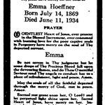 Hoeffner, Emma - 1934