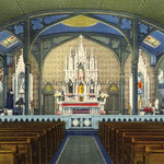 St. Boniface RC Church (1869-1966) interior