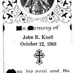 Knell, John R. - 1968