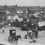 Wallabout Market, Brooklyn - c. 1920