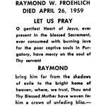 Froehlich, Raymond W - 1959