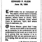 Klein, Edward P. - 1984
