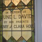 In Memory of June L. David