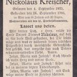 Kreischer, Nikolaus - 1905