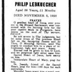 Lebkuecher, Philip - 1925