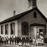 Fosters Meadow School, District No. 16,  School St., Elmont - April 10, 1907