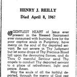 Reilly, Henry J. - 1967