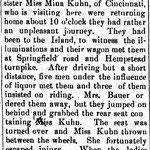 Hempstead Sentinel - Mrs. Bauer & Mrs Espach  - July 26, 1906