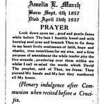 March, Amelia E. - 1937
