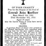 Hoeffner, Conrad John - 1916