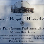 St. Paul's German Presbyterian Church - Town of Hempstead Historical Site, Elmont