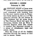 Grimm, Edward J. - 1962