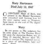 Hartmann, Mary - 1947