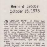 Jacobs, Bernard - 1973