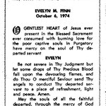Finn, Evelyn M. - 1974