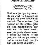 Schmitt, Helen E. - 2002
