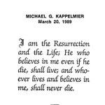 Kappelmier, Michael G. - 1989