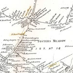1873 Beers Map - Fosters Meadow