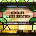 Geschenkt Albert Hohenstein
