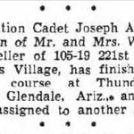 Long Island Press - Joseph A. Goeller - WW 2 - Sept. 9, 1943