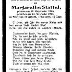 Stattel, Margarethe - 1904