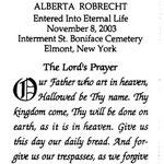Robrecht, Alberta - 2003