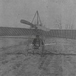 Seamen Brothers Flying Machine, on Ridder's Hotel field