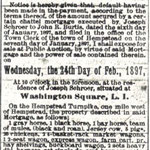 Hempstead Inquirer - Auction Sale - Feb. 19, 1897