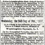 Hempstead Inquirer - Auction Sale - Feb. 19, 1897