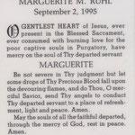 Ruhl, Marguerite - 1995
