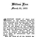 Finn, William - 1972